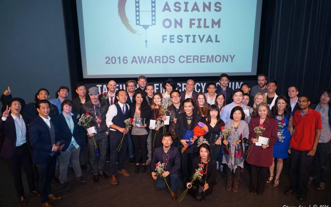 Asians on Film Festival 2016 Awards!